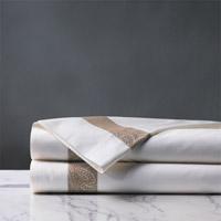 Cornice White/Biscotti Flat Sheet