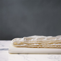 Chiaro Luxe Ivory Fitted Sheet
