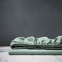 Deluca Sea Fitted Sheet