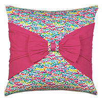 Gigi Bow Decorative Pillow