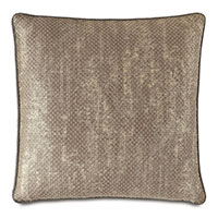 Indochine Metallic Decorative Pillow