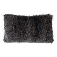 Indochine Faux Fur Decorative Pillow