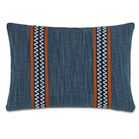 Gilmer Indigo With Border