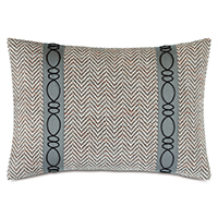 Kilbourn Raised Cord Decorative Pillow