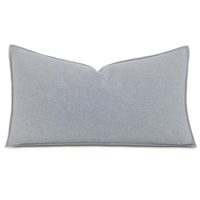 Brera Flannel King Sham In Gray