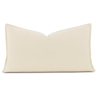 Brera Flannel King Sham In Ivory