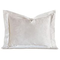 Millefleur White King Sham