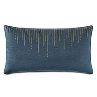 Tabitha Metallic Drip King Sham