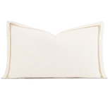 Enzo Ivory/Antique King Sham