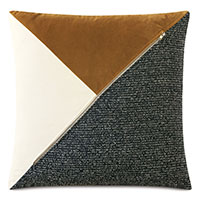 Medara Color Block Decorative Pillow