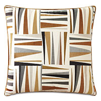Medara Embroidered Decorative Pillow