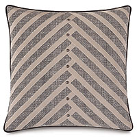 Maddox Diagonal Pleat Decorative Pillow
