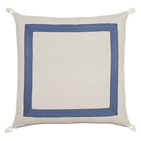 Maritime Nautical Euro Sham In Ivory