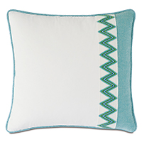 Namale Woven Trim Decorative Pillow
