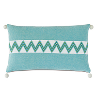 Namale Ball Trim Decorative Pillow