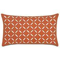 Breeze Tangerine Grid Oblong