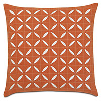 Breeze Tangerine Grid Square