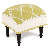 Etta Lime Pillow Top Stool