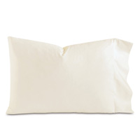 Fresco Luxe Ivory Pillowcase