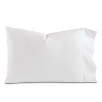 Fresco Luxe White Pillowcase