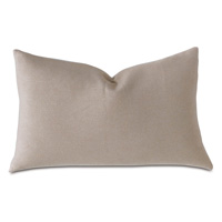 Hansel Flannel Queen Sham In Bisque