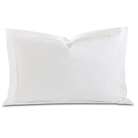 Fresco Luxe White Queen Sham