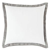 Saya Flange Decorative Pillow