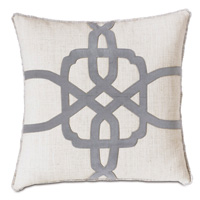 Safford Lasercut Decorative Pillow
