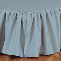 Fresco Classic Azure Ruffled Bed Skirt
