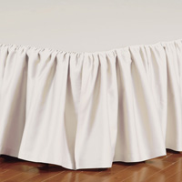 Fresco Classic Ecru Ruffled Bed Skirt