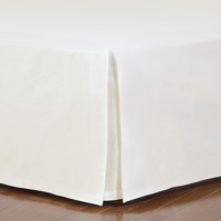 Fresco Classic Ivory Straight Bed Skirt