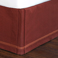 Walden Berry Bed Skirt