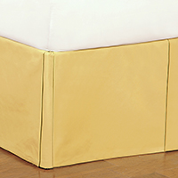 Fullerton Lemon Bed Skirt