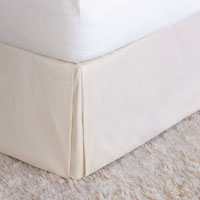 Edris Ivory Bed Skirt