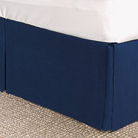 Resort Indigo Bed Skirt