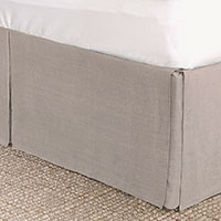 Resort Stone Bed Skirt