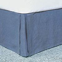 Castaway Linen Bed Skirt