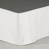 Fresco Classic White Straight Skirt Panels