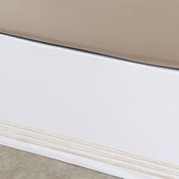 Tessa White/Bisque Skirt Panels