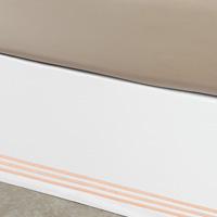 Tessa White/Blush Skirt Panels