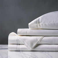 Lusso White Sheet Set