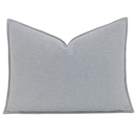 Brera Flannel Standard Sham In Gray
