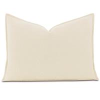 Brera Flannel Standard Sham In Ivory