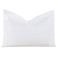 Lusso White Standard Sham