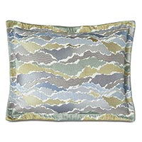 Zephyr Embroidered Standard Sham