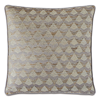Silvio Metallic Decorative Pillow