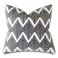 Lamu Ikat Decorative Pillow