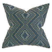 Trillium Diamond Fil Coupe Decorative Pillow