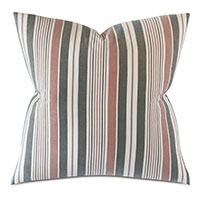 Chilmark Striped Euro Sham