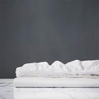Chiaro Classic White Fitted Sheet